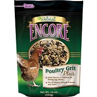 Brown's Encore Natural Poultry Grit Plus Chicken Feed, 16-oz bag