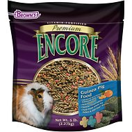 Brown's Encore Premium Guinea Pig Food, 5-lb bag