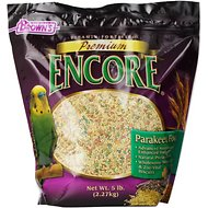 Brown's Encore Premium Parakeet Bird Food, 5-lb bag