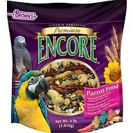 Brown's Encore Premium Parrot Bird Food, 4-lb bag