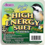 Brown's Garden Chic! High Energy Suet Wild Bird Food, 11.75-oz tray