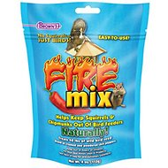 Brown's Garden Chic! No Squirrels... Just Birds! Fire Mix Wild Bird Food Treatment, 4-oz bag