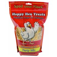 Happy Hen Treats Mealworm & Corn Party Mix Treats for Chickens, 2-lb bag