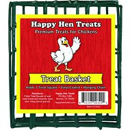 Happy Hen Treats Square Treat Basket for Chickens