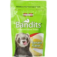 Marshall Bandits Premium Banana Flavor Ferret Treats, 3-oz bag