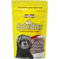 Marshall Bandits Premium Original Chicken Flavor Ferret Treats, 3-oz bag