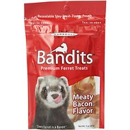 Marshall Bandits Premium Meaty Bacon Flavor Ferret Treats, 3-oz bag