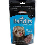 Marshall Bandits Freeze-Dried Duck Flavor  Ferret Treats, .75-oz bag