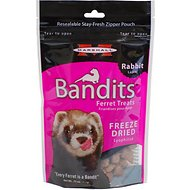 Marshall Bandits Freeze-Dried Rabbit Flavor Ferret Treats, .75-oz bag