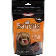 Marshall Bandits Freeze-Dried Turkey Flavor Ferret Treats, .75-oz bag