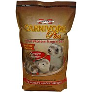Marshall Carnivore Plus High Protein Grain-Free Ferret Food, 3.5-lb bag