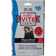 Marshall Furo-Vite Vitamin Boost Ferret Semi-Moist Chews, 3-oz bag
