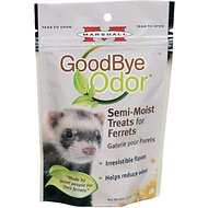 Marshall Goodbye Odor Ferret Semi-Moist Treats, 2.5-oz bag