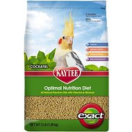 Kaytee Exact Cockatiel Bird Food, 3-lb bag
