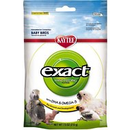 Kaytee Exact Hand Feeding Formula Baby Bird Food, 7.5-oz bag