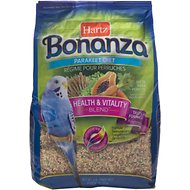Hartz Bonanza Parakeet Food, 4-lb bag