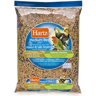Hartz Bird Diet for Cockatiels, Lovebirds & Small Conures Bird Food, 10-lb bag