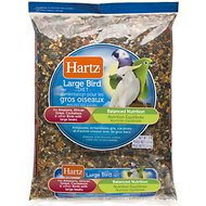 Hartz Bird Diet for Amazons, African Greys & Cockatoos Large Bird Food, 8-lb bag
