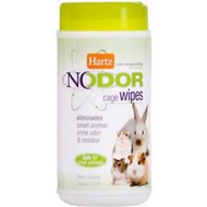 Hartz No Odor Small Animals Cage Wipes, 30-count