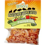 Peter's Papaya Pieces Small Animal Nature Treats, 2.85-oz bag