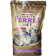 Marshall Select Senior Formula Ferret Food, 4-lb bag