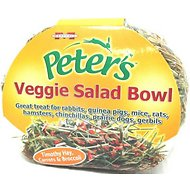 Peter's Veggie Salad Bowl Small Animal Treats, 3.5-oz bag