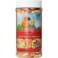 Kaytee Fiesta Papaya, Peanuts & Mango Bird Treats, 8-oz jar