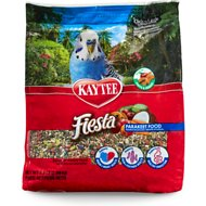 Kaytee Fiesta Variety Mix Parakeet Bird Food, 4.5-lb bag