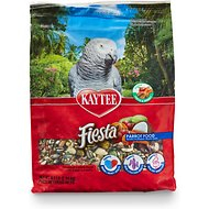 Kaytee Fiesta Variety Mix Parrot Bird Food, 4.5-lb bag