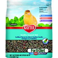 Kaytee Forti-Diet Pro Health Canary Bird Food, 2-lb bag