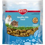 Kaytee Forti-Diet Pro Health Healthy Bits Hamster & Gerbil Treats, 4.75-oz bag