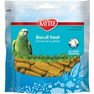Kaytee Forti-Diet Pro Health Parrot Biscuit Bird Treats, 10-oz bag