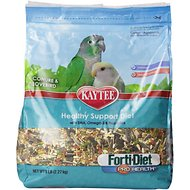 Kaytee Forti-Diet Pro Health Conure & Lovebird Bird Food, 5-lb bag