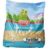 Kaytee Forti-Diet Pro Health Parakeet Bird Food, 5-lb bag