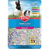 Kaytee Clean & Cozy Birthday Cake Small Animal Bedding, 55.7-L