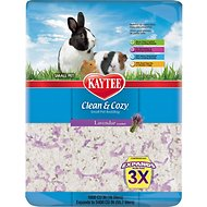Kaytee Clean & Cozy Scented Small Animal Bedding, Lavender, 55.7-L