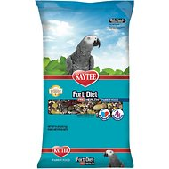 Kaytee Forti-Diet Pro Health Parrot Bird Food, 8-lb bag