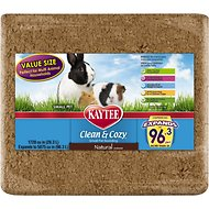 Kaytee Clean & Cozy Natural Small Animal Bedding, 96.3-L