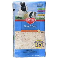 Kaytee Clean & Cozy Scented Small Animal Bedding, Tahitian Vanilla, 27.9-L