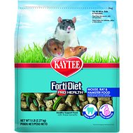 Kaytee Forti-Diet Pro Health Mouse & Rat Food, 5-lb bag