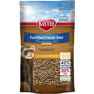 Kaytee Fortified Diet with Real Chicken Ferret Food, 4-lb bag