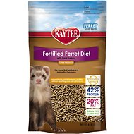 Kaytee Fortified Diet with Real Turkey Ferret Food, 4-lb bag