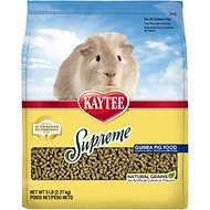 Kaytee Supreme Fortified Daily Diet Guinea Pig Food, 5-lb bag