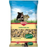 Kaytee Supreme Fortified Daily Diet Hamster & Gerbil Food, 4-lb bag