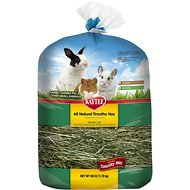 Kaytee Timothy Hay Wafer-Cut Small Animal Food, 60-oz bag