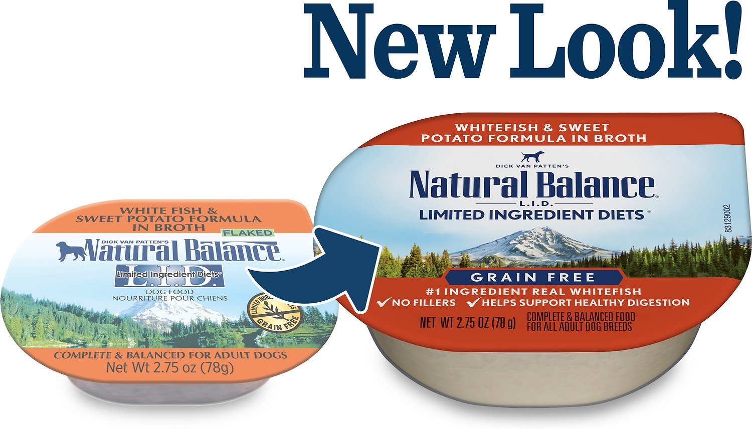 Natural Balance L.I.D. Limited Ingredient Diets White Fish  | Natural Balance Dog Food Allergies