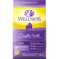 Wellness Complete Health Adult Deboned Chicken & Oatmeal Recipe Dry Dog Food, 5-lb bag