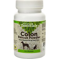 Animal Essentials Colon Rescue Powder Herbal Digestive Aid Dog & Cat Supplement, 1-oz bottle