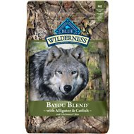 Blue Buffalo Wilderness Bayou Blend with Alligator & Catfish Grain-Free Dry Dog Food, 22-lb bag