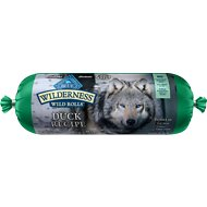 Blue Buffalo Wilderness Wild Rolls Duck Recipe Grain-Free Dog Food Roll, 2.25-lb